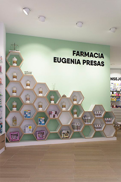 Pared farmacia