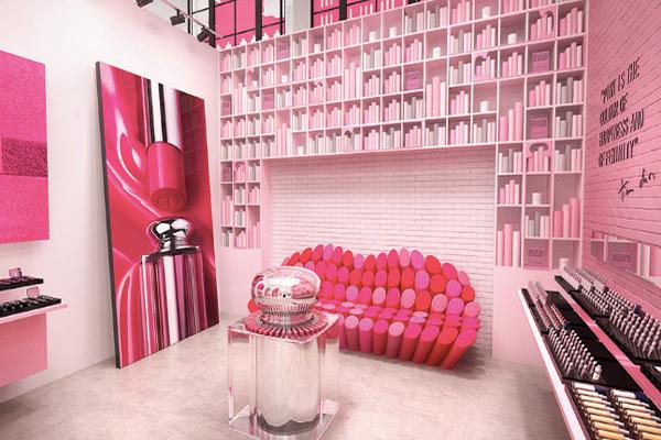 Dior Pink City Pop-up