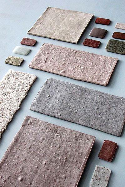 Colores y materiales Wabi Sabi